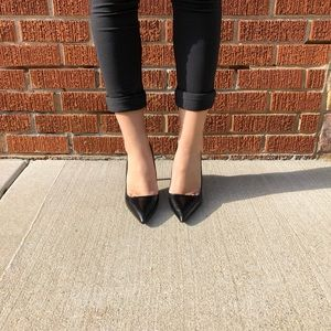 Zara Basic Black Heel
